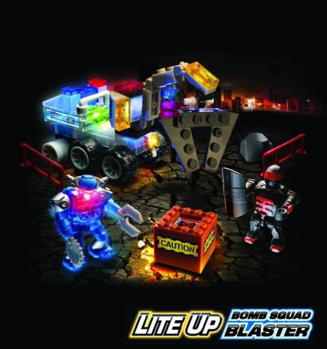 Lite Brix - BOMB SQUAD BLASTER - Light Building System - NEW